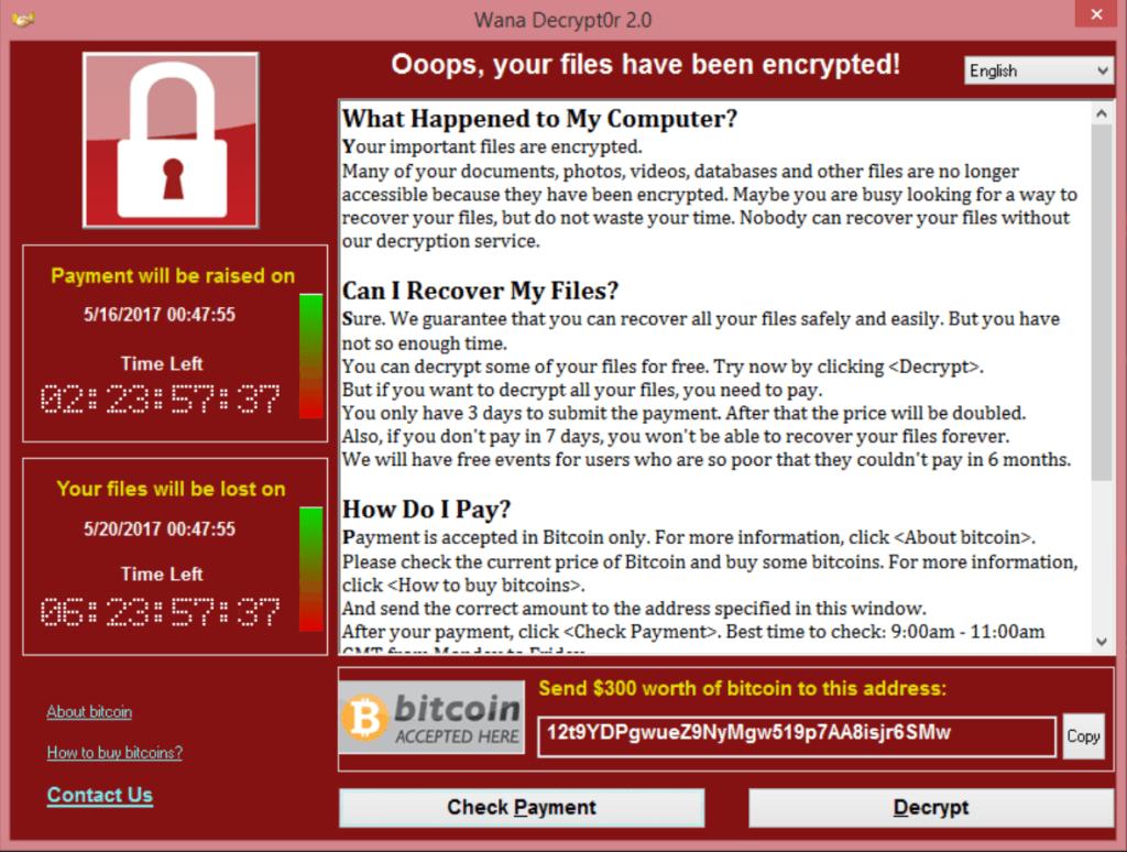 WannaCry: Zum Heulen – Cybersecurity ist unsere Achillesferse