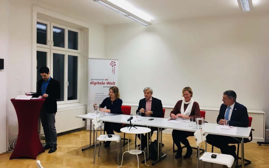 "Nachlese Digitalk ""Politik digital aktiv mitgestalten"""