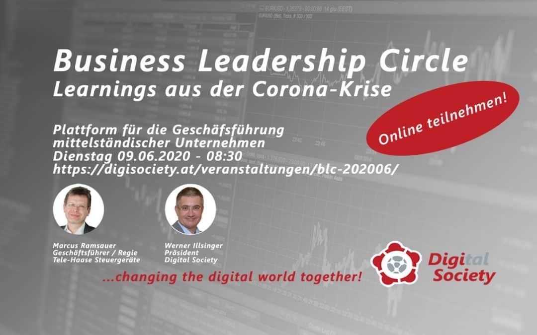 Business Leadership Circle: Plattform für die Geschäftsführung gestartet