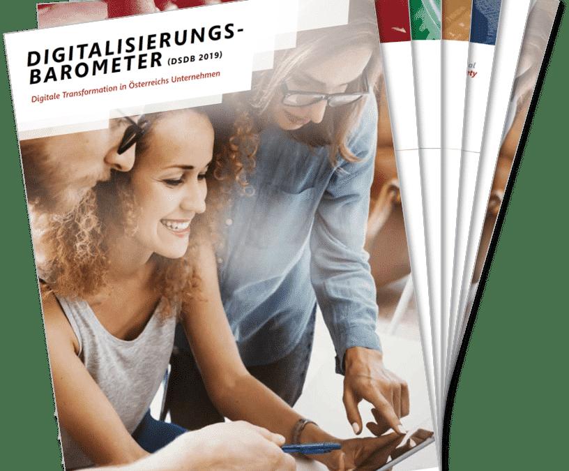 Digitalisierungs-Barometer: Österreichs Unternehmen hinken bei Digitalisierung hinterher
