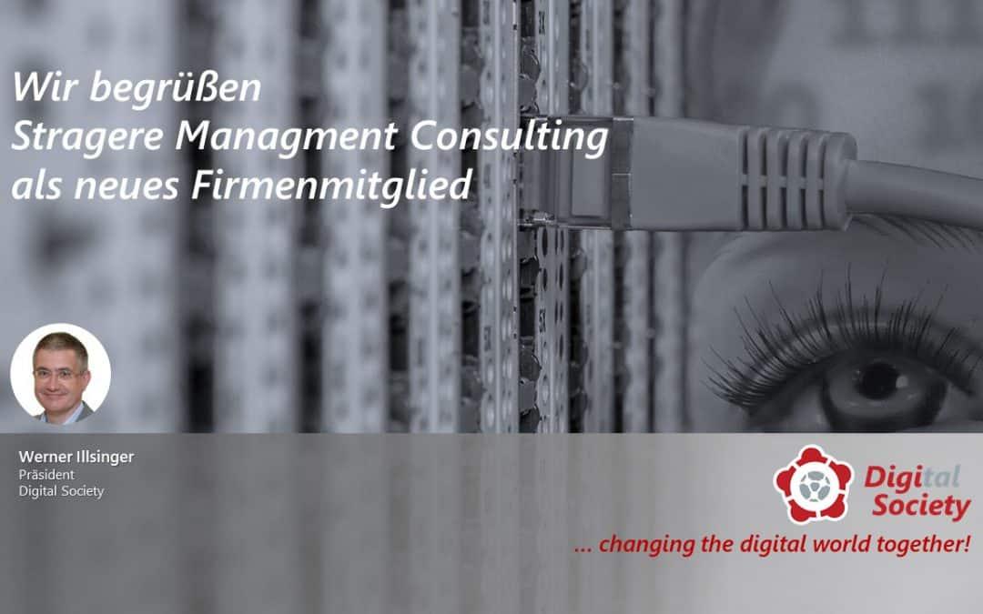 Wir begrüßen Stragere Managment Consulting als neues Firmenmitglied
