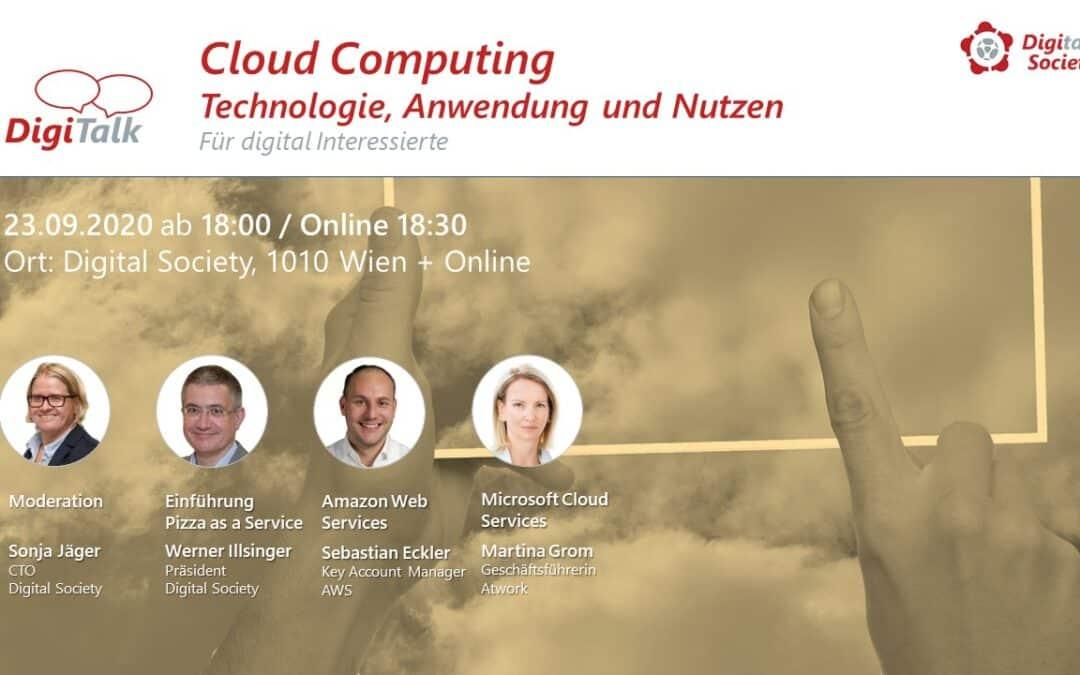 """Nachlese DigiTalk """"Cloud Computing – Technologie, Anwendung und Nutzen"""""""