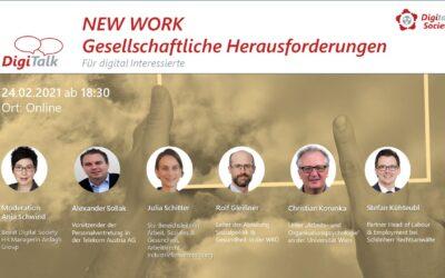 """Nachlese DigiTalk Gesellschaftliche Herausforderungen in der Arbeitswelt durch die digitale Transformation"""""""