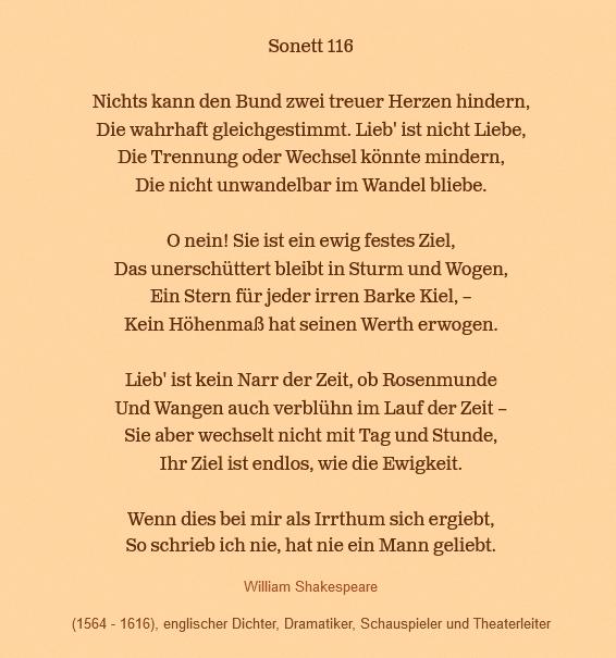 Sonett 116