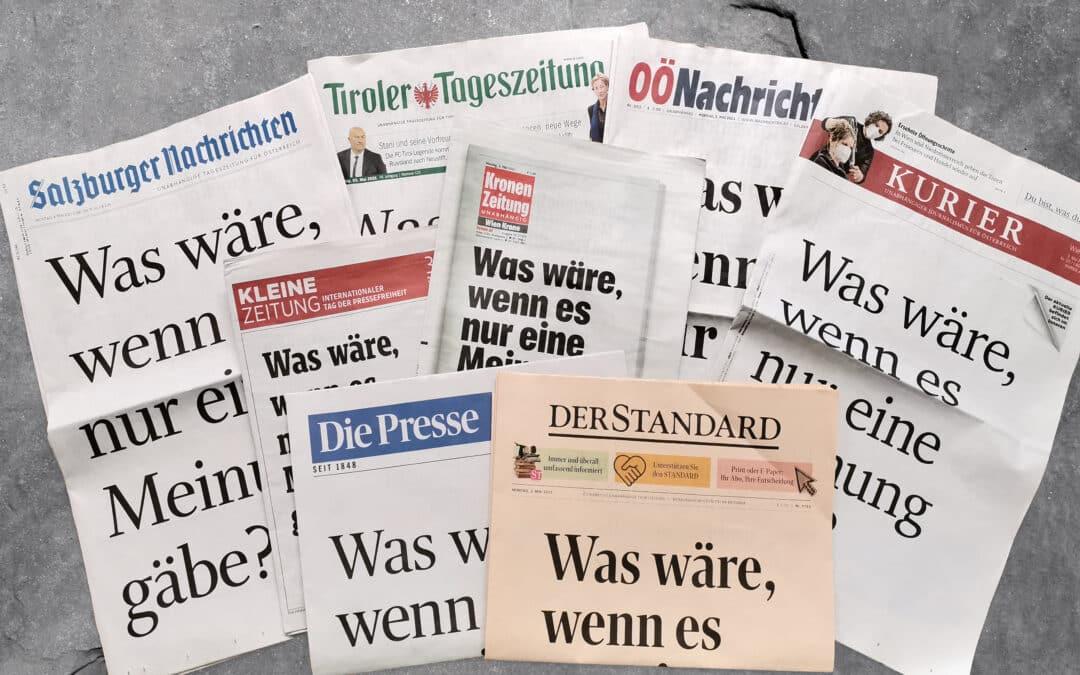 Demokratie braucht Meinungsvielfalt und Pressfreiheit