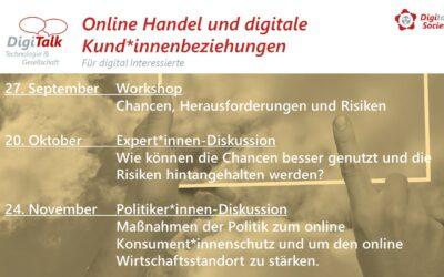 Digitalks im Herbst (online Handel und digitale Kund*innenbeziehungen)