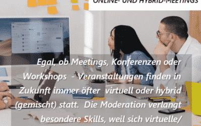 NEU – digitale Moderation (Blended Learning)