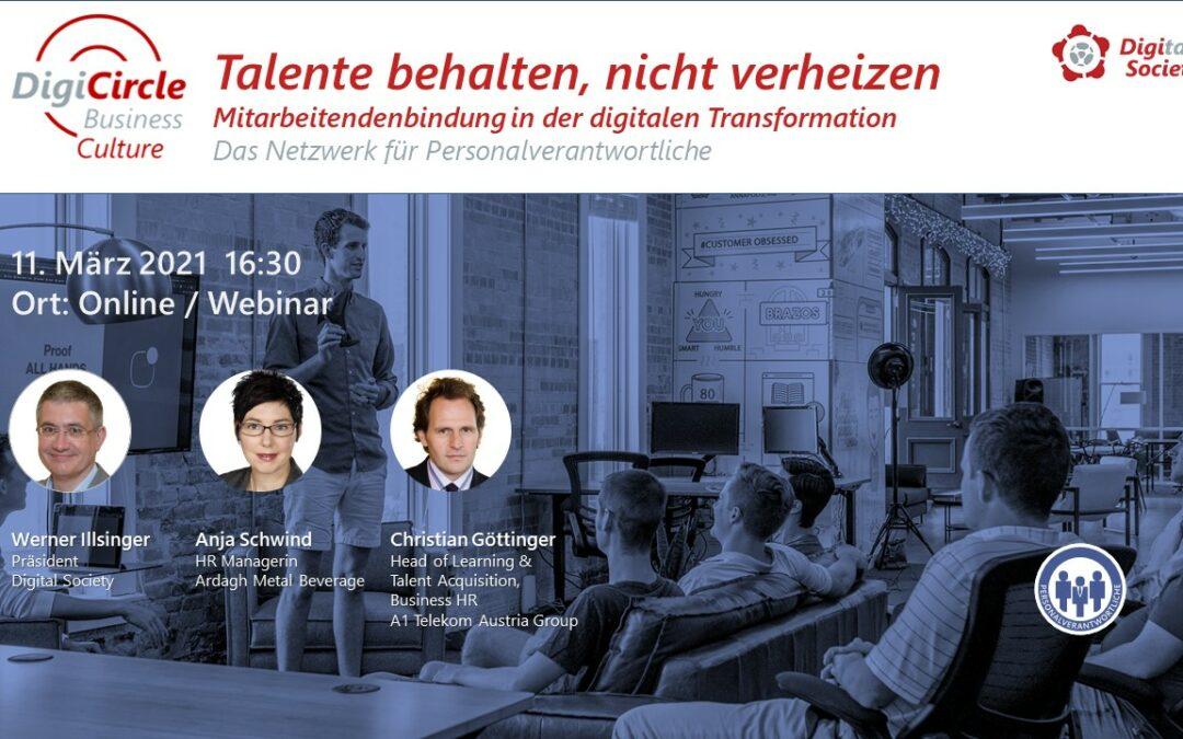 Nachlese DigiCircle Business Culture (03/2021)Lernen in digitalen ZeitenChristian Göttinger – A1
