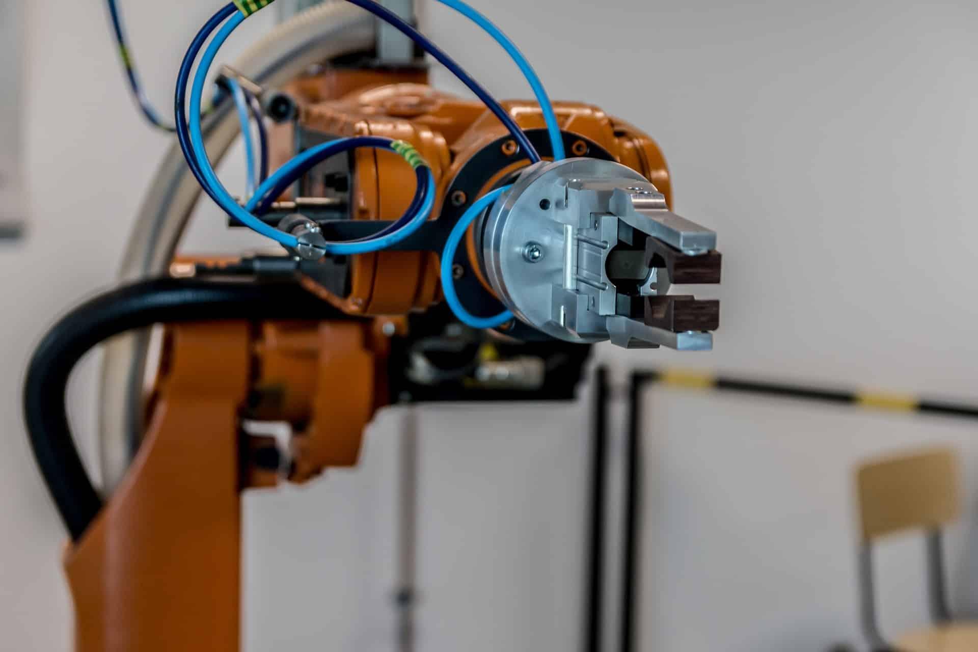 Roboterarm Industrie Produktion